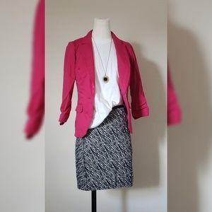 H&M Skirts - H&M Zebra Print Skirt
